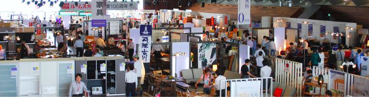 横浜グランドインテリアフェアの様子1