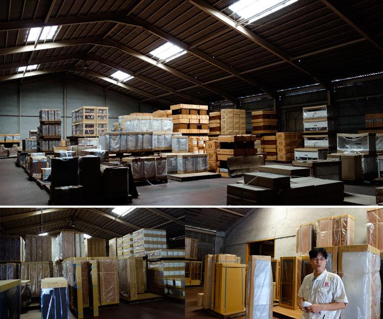 藤代工場倉庫