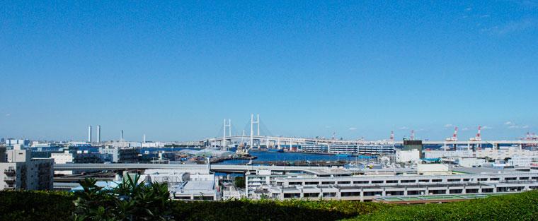 港の見える丘公園風景