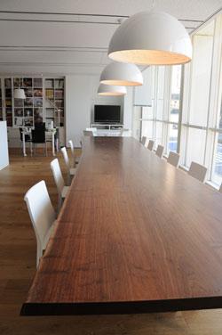 関家具木馬一枚板テーブル