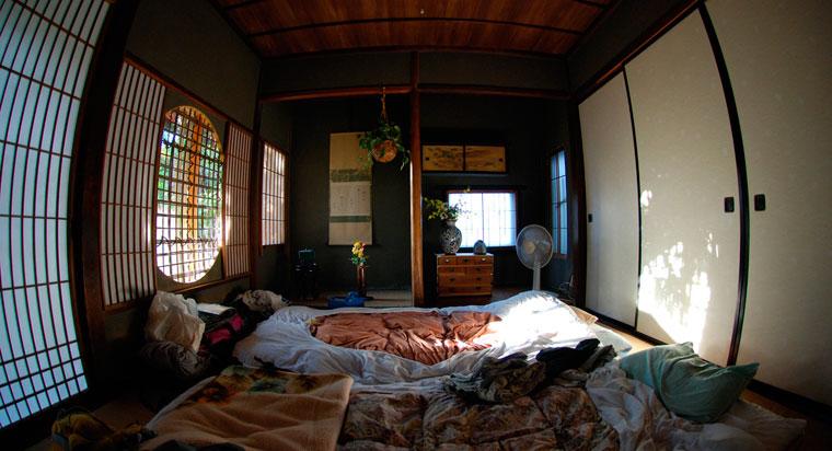 日本の敷き布団