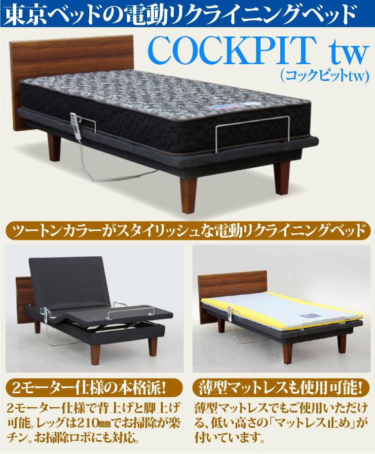 東京ベッドの電動リクライニングベッド