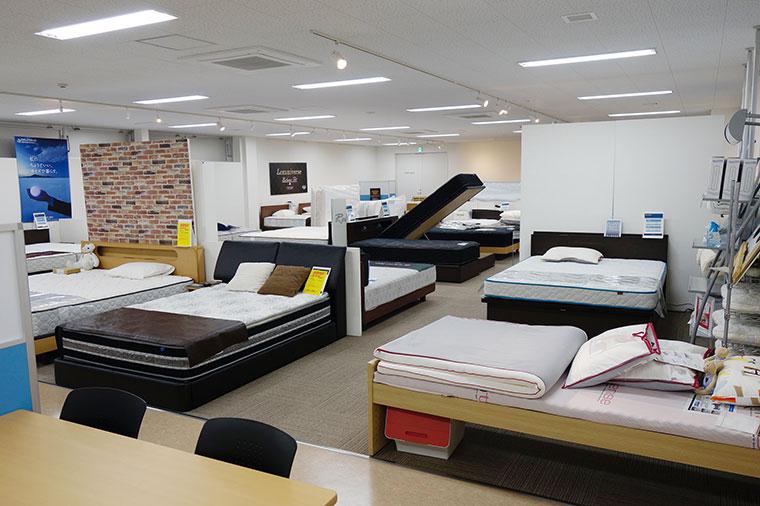 東京ベッド千葉工場ショールーム
