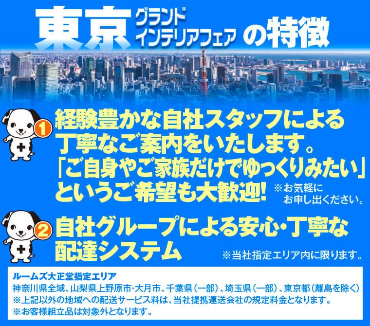 東京グランドインテリアフェアの特徴