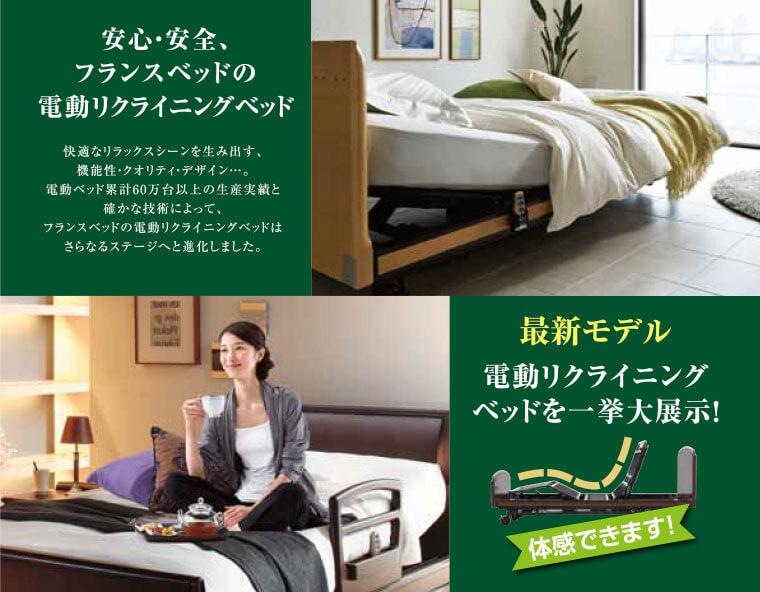 フランスベッドの電動リクライニングベッド