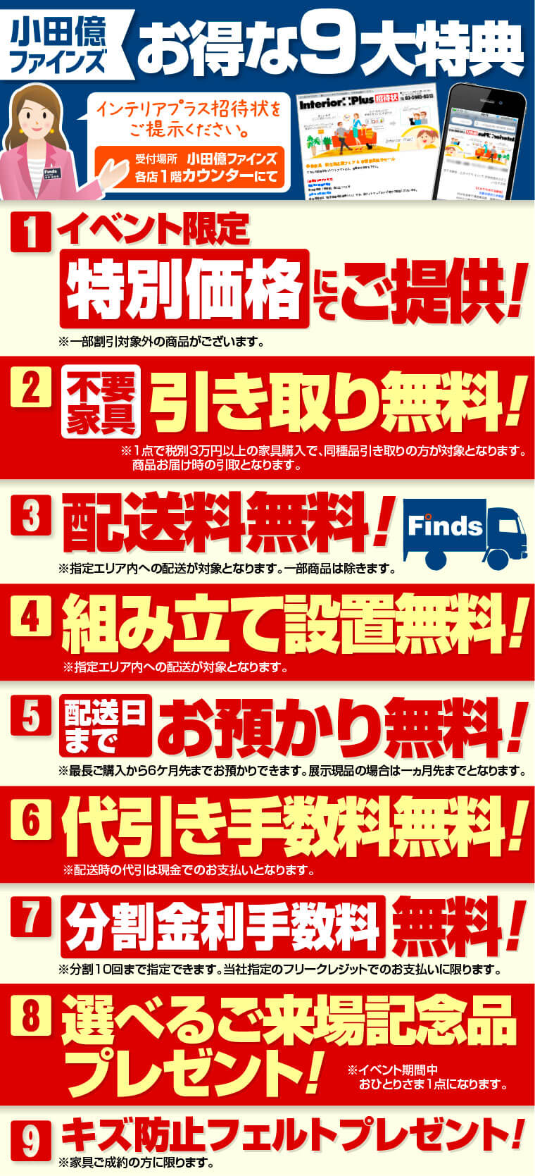 小田億ファンイズの特典