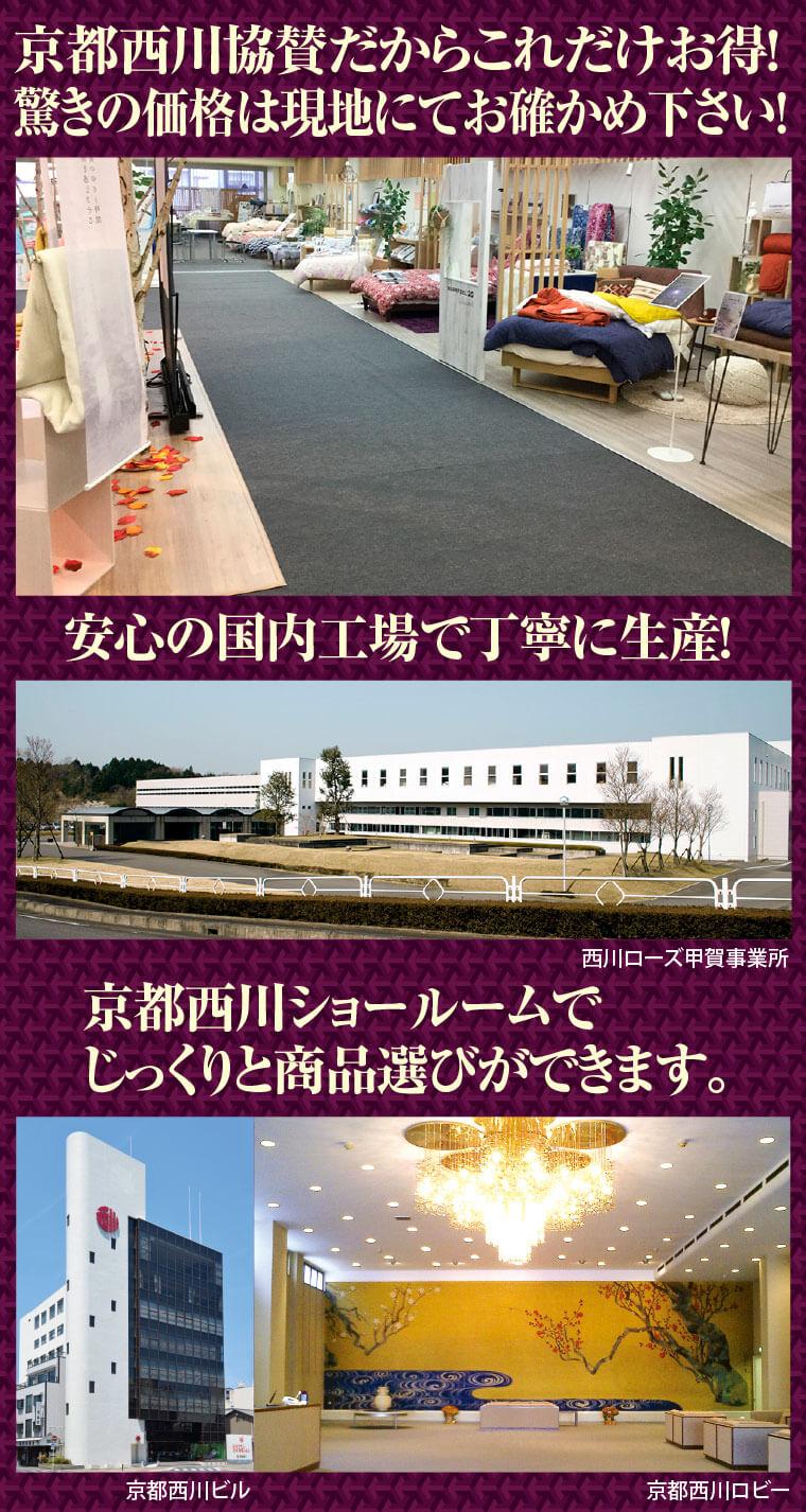 京都西川本社