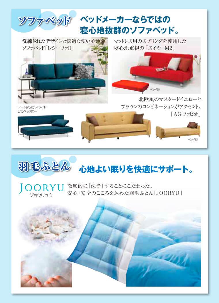 フランスベッドのソファベッド