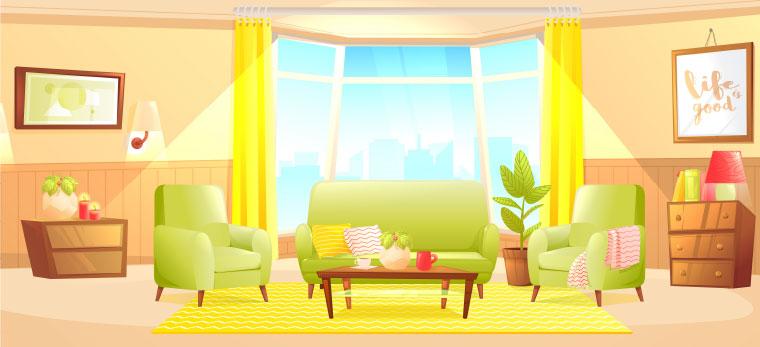 夏を涼しく過ごすために、家具インテリアづくりのオススメポイント!