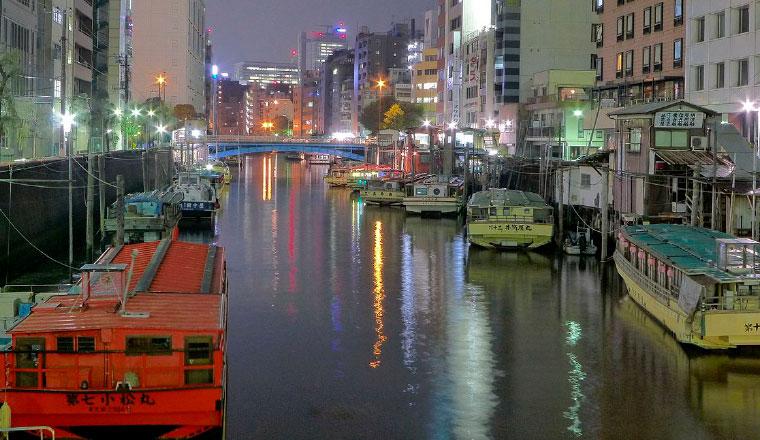 浅草橋の屋台船
