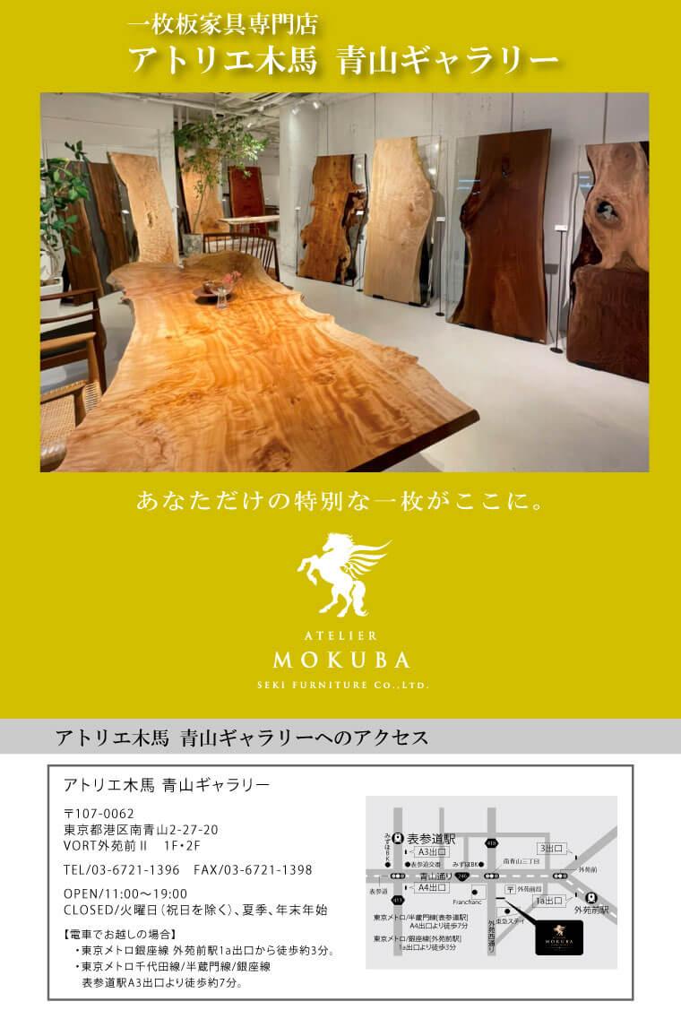 Atelier MOKUBA 青山プレミアムギャラリーのアクセス