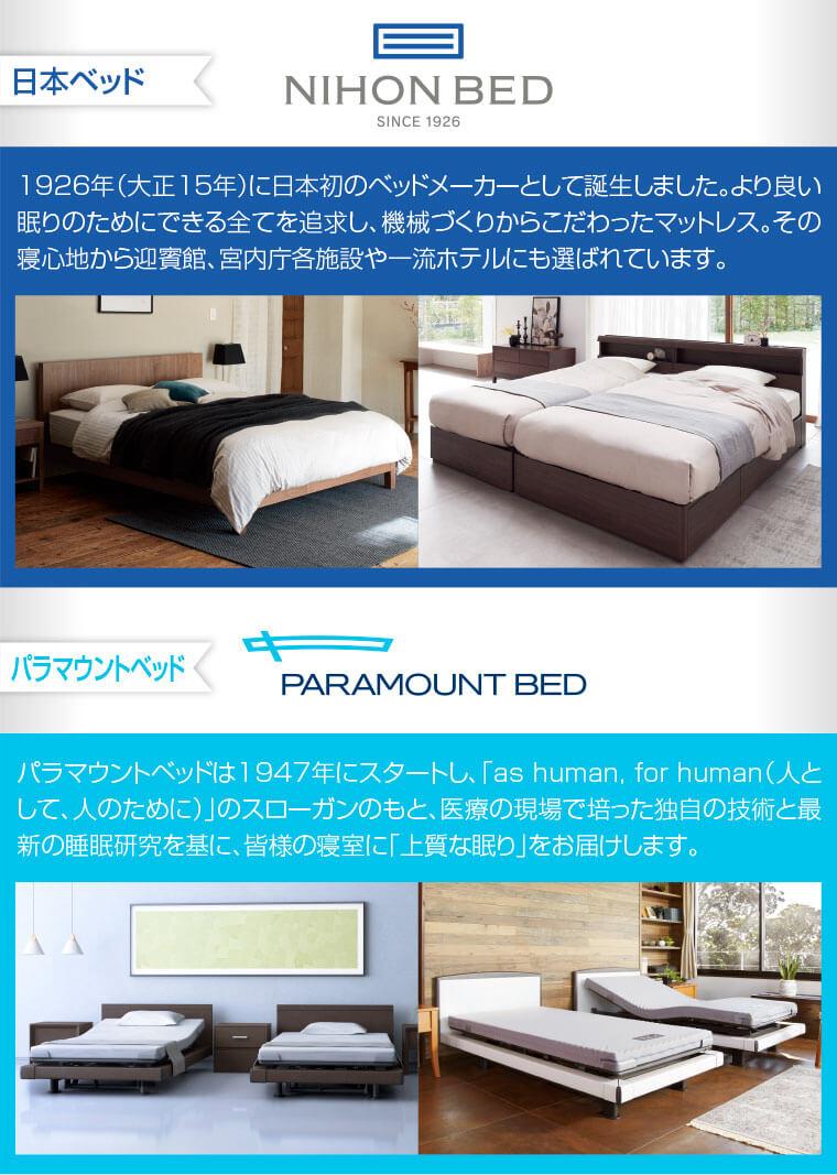日本ベッド、パラマウントベッド